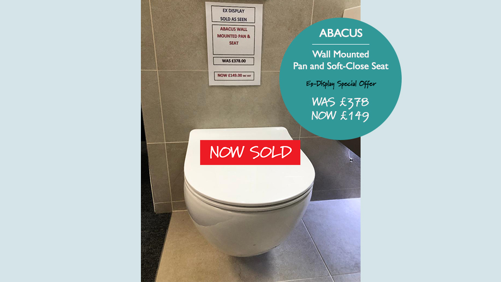 Abacus Wall Mounted Pan Now Sold